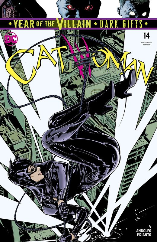 Catwoman - #14 (Cover A) by V. Ram