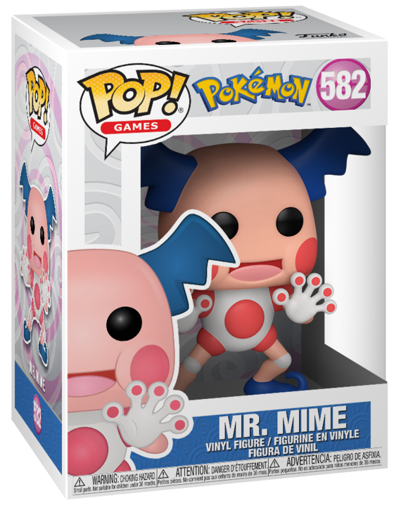 Pokemon: Mr Mime - Pop! Vinyl Figure image
