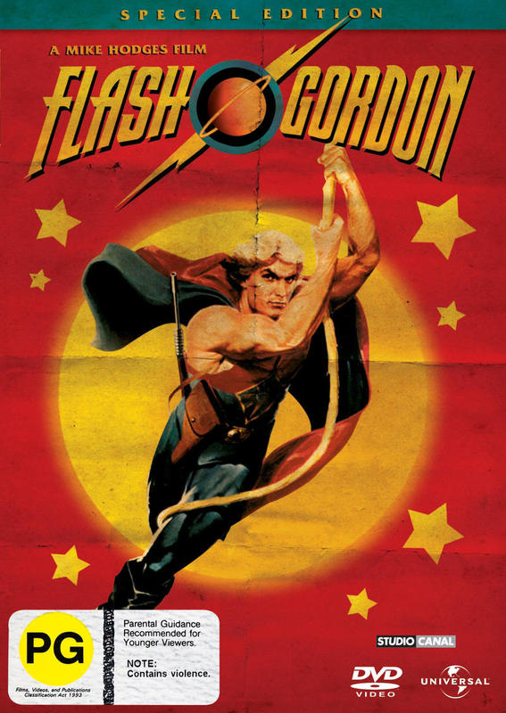 Flash Gordon (1980) - Special Edition on DVD