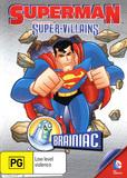 Superman: Super Villains: Brainiac DVD