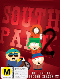 South Park - The Complete 2nd Season (3 Disc Box Set) on DVD image