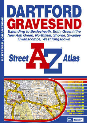 Dartford and Gravesend Street Atlas by Great Britain image