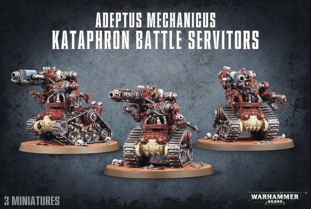 Warhammer 40,000 Adeptus Mechanicus Kataphron Battle Servitors