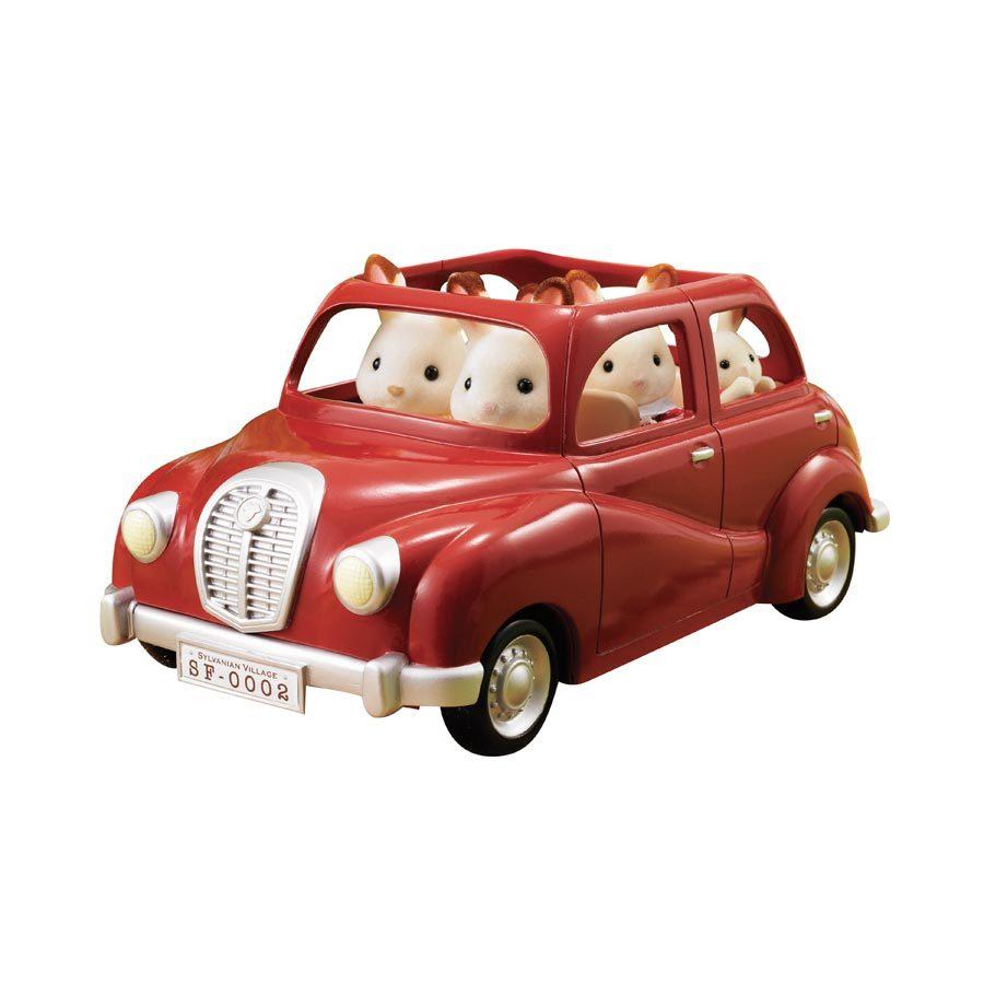 Sylvanian Families: Red Mini Family Car image