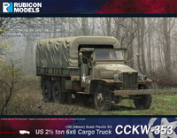 Rubicon 1/56 US 2½ ton 6x6 Truck CCKW-353