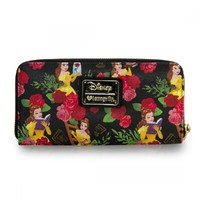 Loungefly Disney Beauty And The Beast Floral Wallet