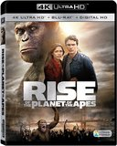 Rise Of The Planet Of The Apes (4K UHD + Blu-ray + Digital) DVD