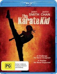 The Karate Kid (2010) on Blu-ray