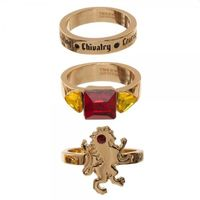 Harry Potter: Gryffindor - House Ring Set (3-Pack)