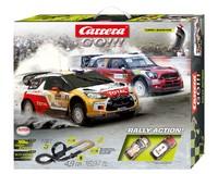 Carrera: Go!!!: Rally Action - Slot Car Set (Citreon/Mini)