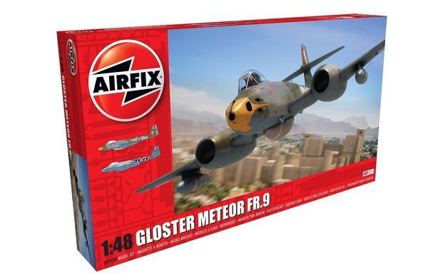 Airfix 1/48 Gloster Meteor FR.9 - Model Kit