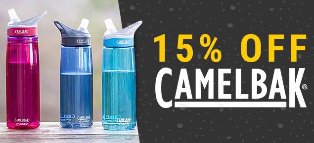 15% off Camelbak!