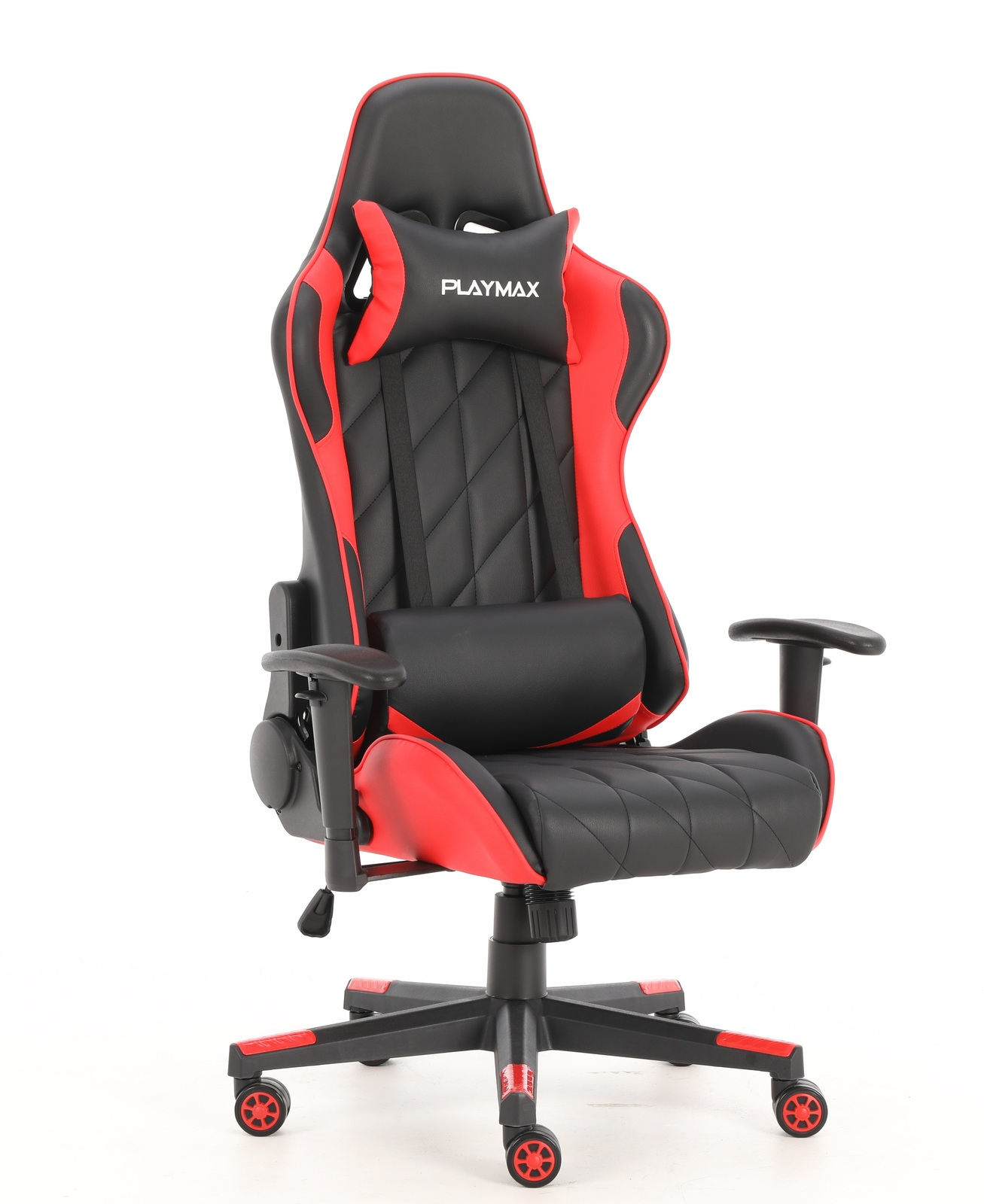 Playmax Elite Gaming Chair - Red and Black for  image