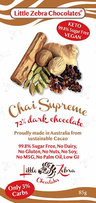 Little Zebra Chocolates: Chai Supreme
