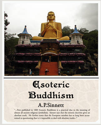Esoteric Buddhism by A.P. Sinnett image