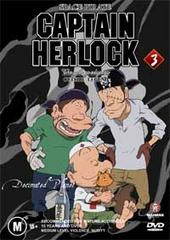 Captain Herlock - Volume 3: The Decimated Planet on DVD