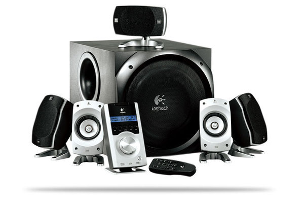 Logitech Z5500 5:1 THX Speaker System with Subwoofer