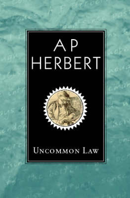 Uncommon Law by A.P. Herbert