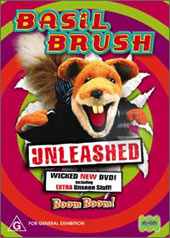 Basil Brush - Unleashed on DVD