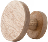General Eclectic Wooden Hook Medium Natural