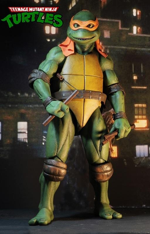 Teenage Mutant Ninja Turtles: Michelangelo (1990 Movie) - 1:4 Scale Action Figure