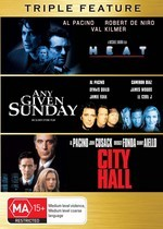 Heat (1995) / Any Given Sunday / City Hall - Triple Feature (3 Disc Set) on DVD