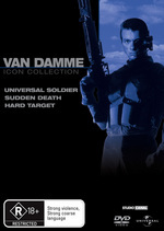 Van Damme Movie Collection (Universal Soldier / Sudden Death / Hard Target) (3 Disc Set) on DVD