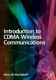 Introduction to CDMA Wireless Communications by Mosa Ali Abu-Rgheff image