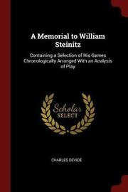 A Memorial to William Steinitz by Charles Devide image