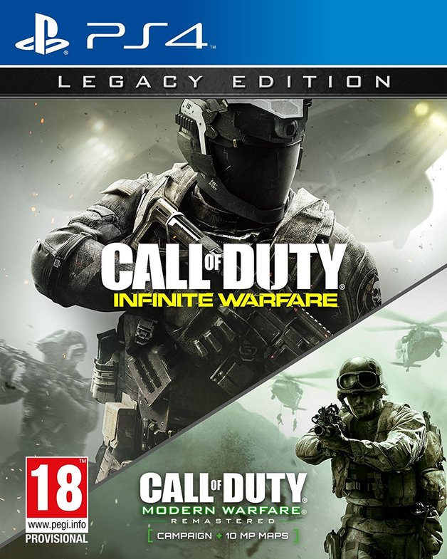 Call of Duty: Infinite Warfare Legacy Edition for PS4