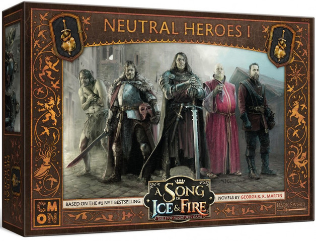 A Song of Ice & Fire TMG - Stark Heroes