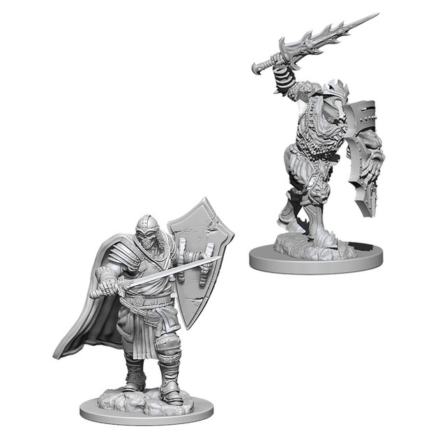 D&D Nolzurs Marvelous: Unpainted Miniatures - Death Knight & Helmed Horror