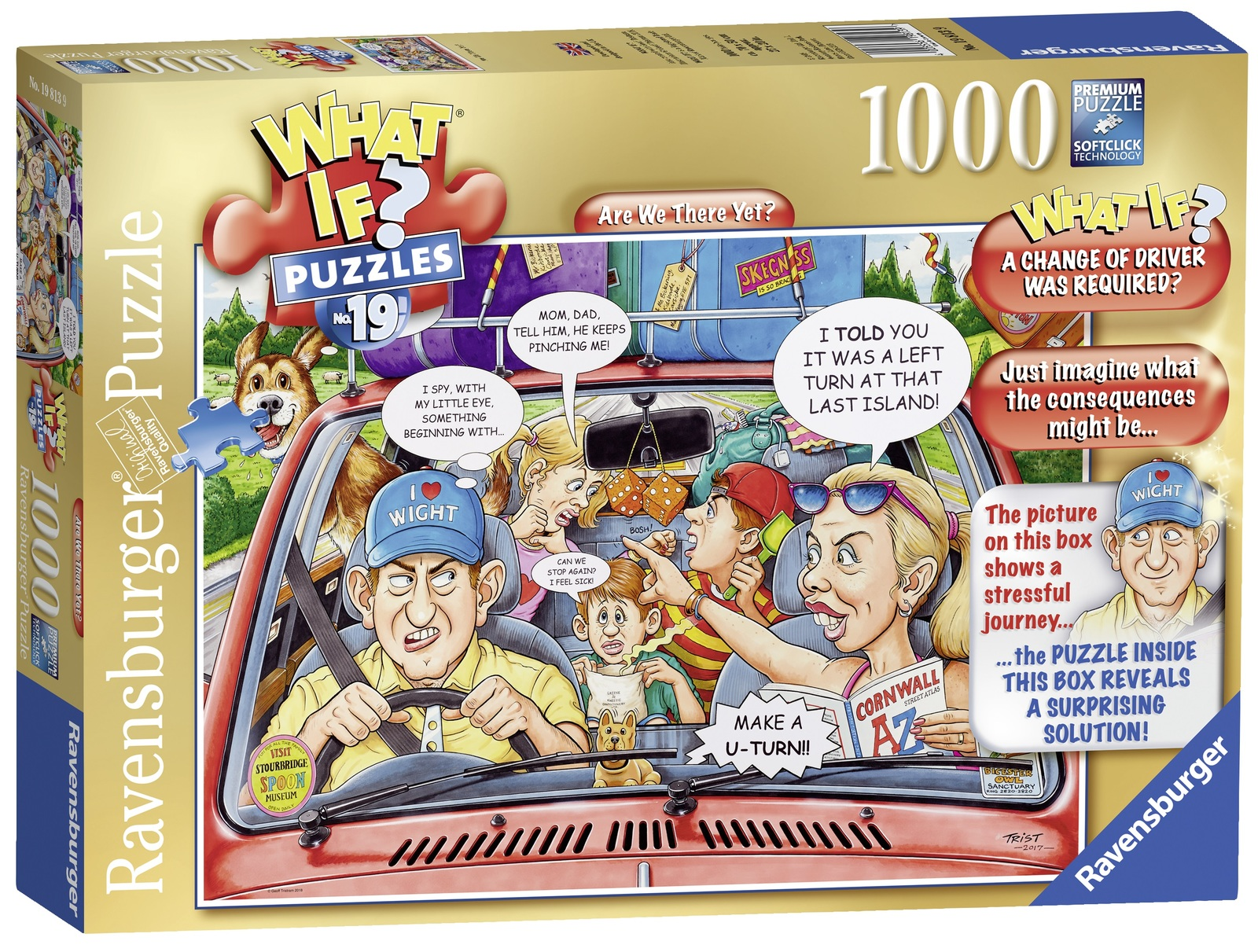 Ravensburger: 1,000 Piece Puzzle - What If? (Are We There Yet?) image