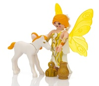 Playmobil: Special Plus - Sun Fairy with Unicorn Foal (9438) image
