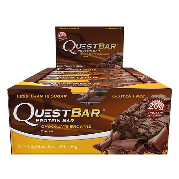 Quest Nutrition Protein Bars - Chocolate Brownie (Box of 12)