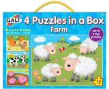 4 Puzzles in a Box: Farm - by Galt