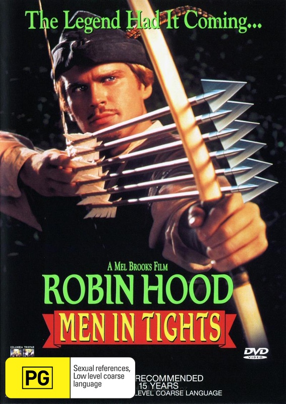 Robin Hood - Men in Tights on DVD