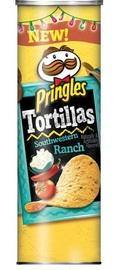 Pringles Large Tortilla Crisps Southwestern Ranch 182g