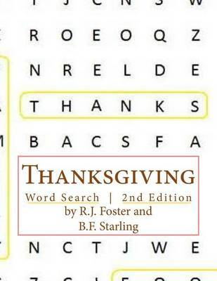 Thanksgiving: Word Search (2nd Edition) by R.J. Foster