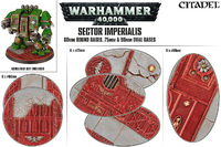 Sector Imperialis Oval Bases Set