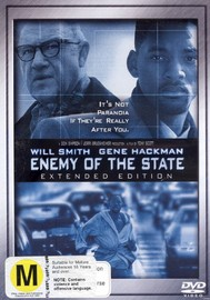 Enemy Of The State - Extended Edition on DVD image