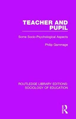 Teacher and Pupil by Philip Gammage