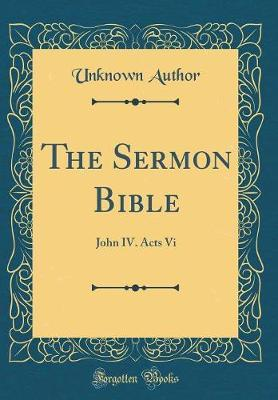 The Sermon Bible by Unknown Author image