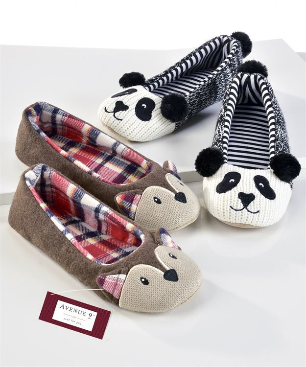 Animal Slippers (Assorted)