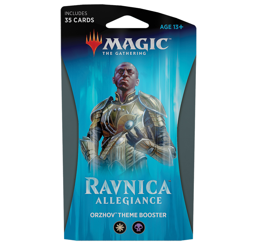 Magic The Gathering: Ravnica Allegiance Theme Booster: Orzhov image