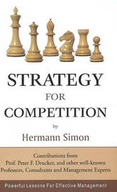 Strategy for Competition by Hermann Simon image