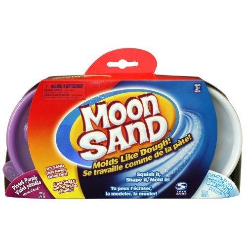 Moon Sands - Refill Kit Coloured Sand - Planet Purple & Satellite White
