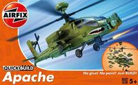Airfix - Quickbuild Apache Helicopter Model Kit