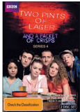 Two Pints of Lager & a Packet of Crisps - Series 4 (2 DVD Set) on DVD