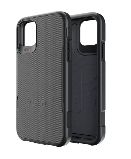 GEAR4: D3O Platoon with Holster for iPhone 11 Pro Max - Black